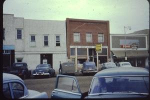 Bill Pochylko collection, Stettler Alberta in the fifties