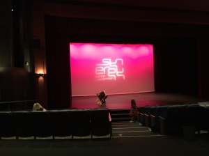 Synergy Dance competition stage
